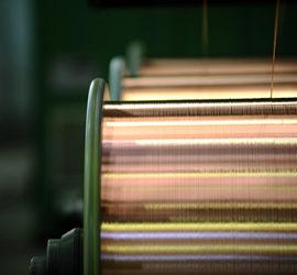 Multi Wire On Braider Bobbins
